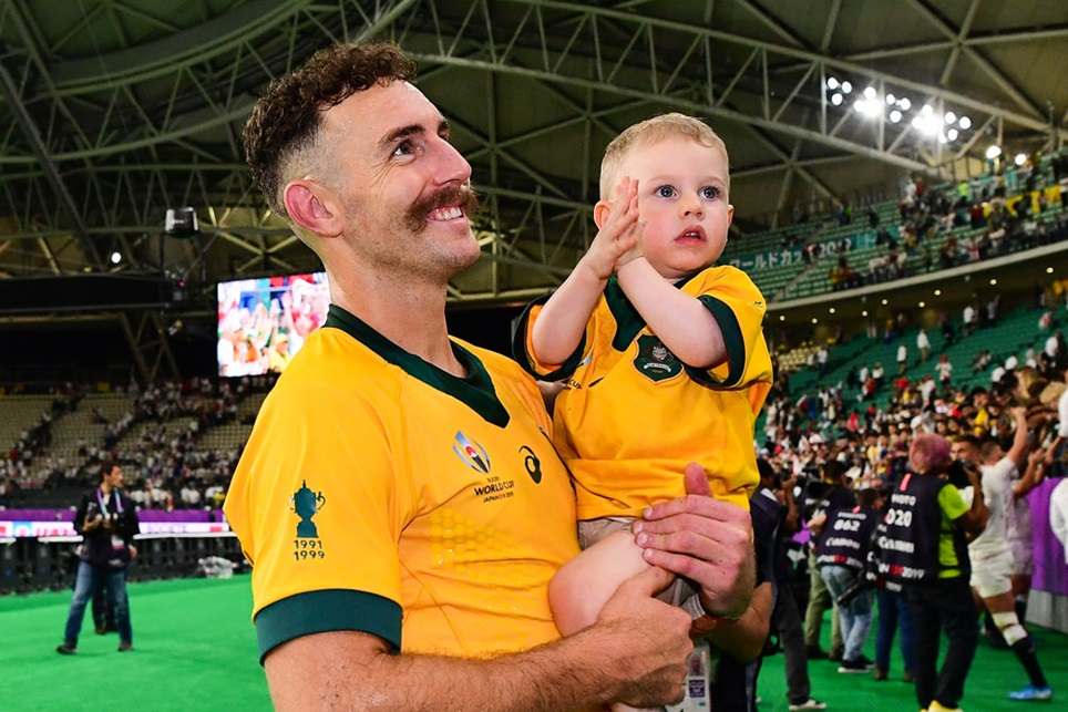 Wallabies scrum-half nominated as Sports Dad of the year