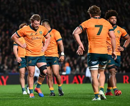 The Wallabies were blown away by 20 minutes of All Blacks brilliance at Eden Park