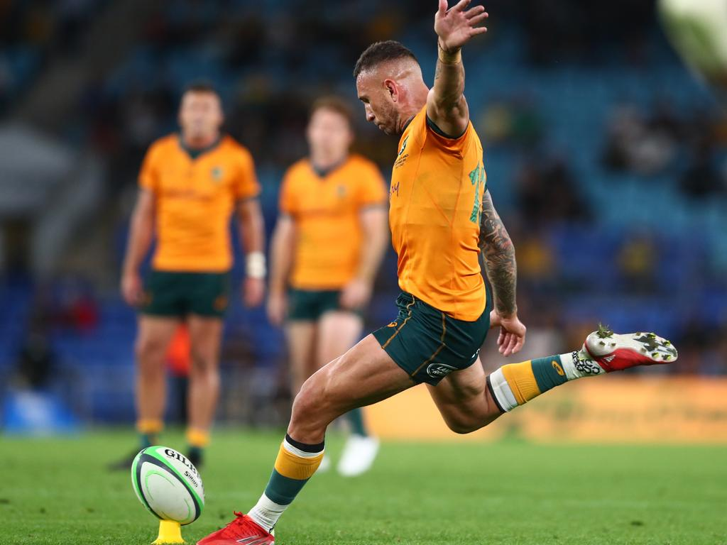 Rugby Championship 2021: Quade Cooper stars as Wallabies upset Springboks