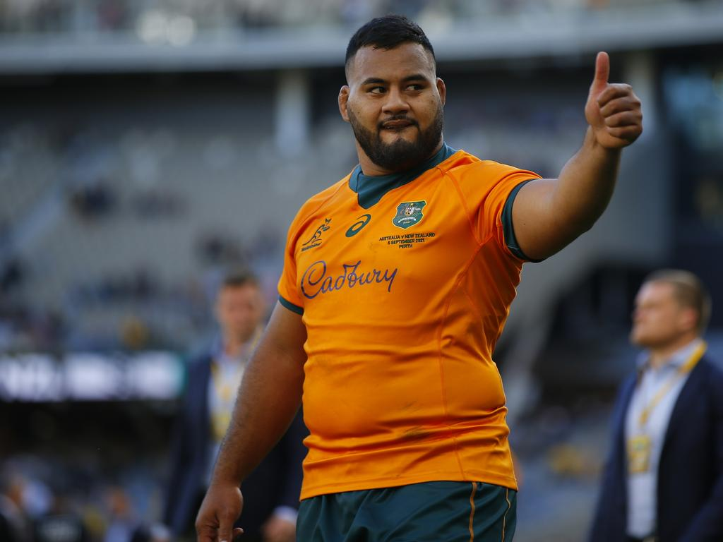 Wallabies: Taniela Tupou glad for the return of his former Reds teammate Quade Cooper